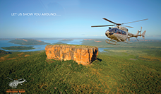 Free Nights accommodation in Darwin with all 8 Day Helicopter Safari Bookings.