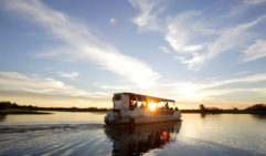 Enjoy a Yellow Water Cruise at sunset through the Kakadu wetlands (photo: David Hancock)