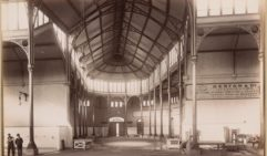 An image from the 1890's shows the building's grand interiors (credit: courtesy of State Library of Victoria).