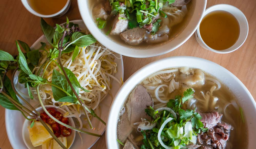 For authentic and fragrant pho in Darwin, head to Mitchell Street mall.