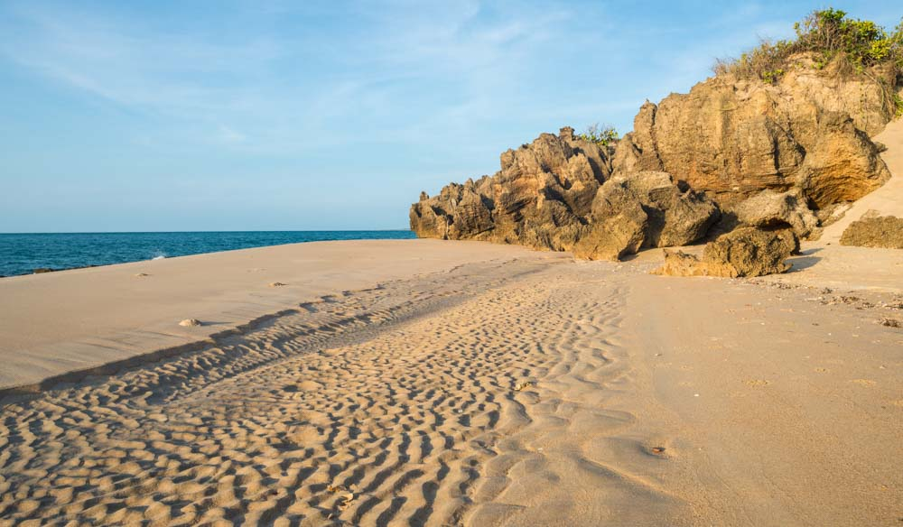 Hire a 4WD and drive to Cape Wirrwawuy at Nhulunbuy town, NT.
