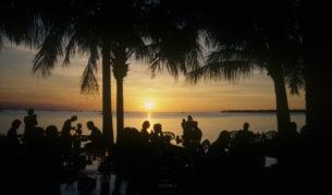Darwin Harbour sunset northern territory