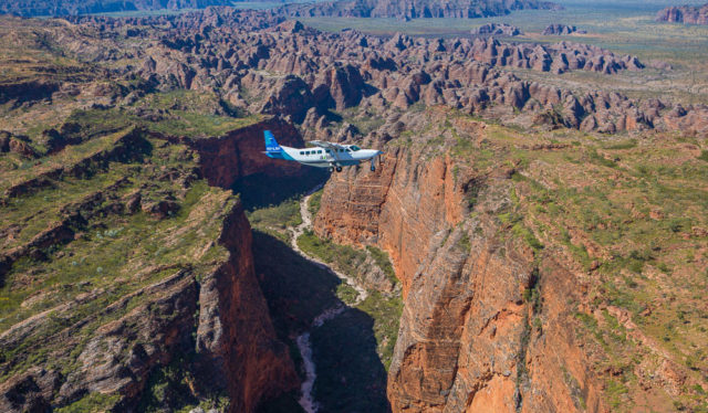 Admire the Bungle Bungle Range from above with Aviair