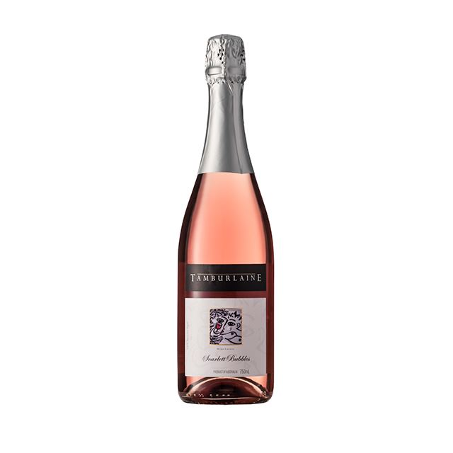 Scarlett Bubbles by Tamburlaine Organic Wines.