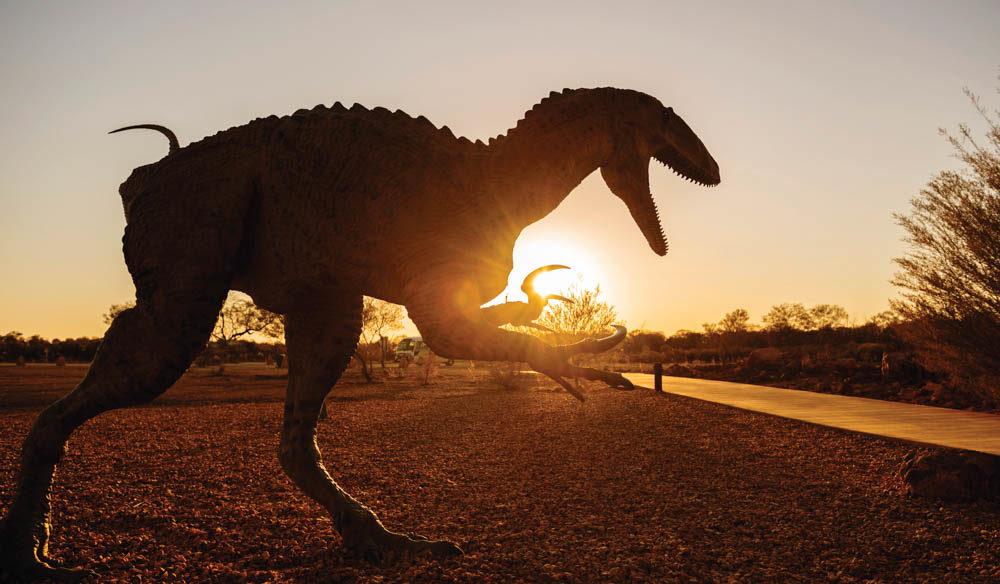 Winton Dinosaur Family holidays