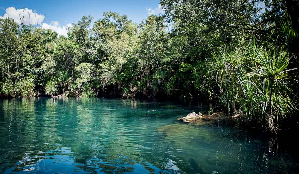 Berry Springs south of Darwin