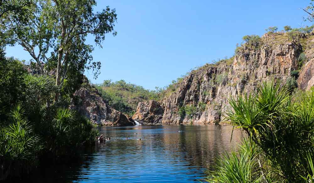 Leliyn swimming hole (Edith Falls)