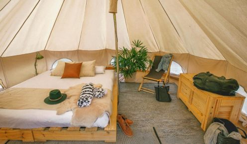 Glamping comes to Kakadu: Flash Camp.