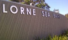 Relax and chill out at the Lorne Sea Baths.