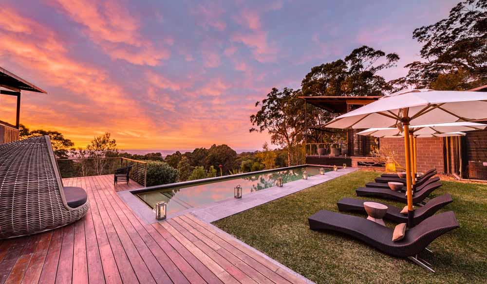 Sunset setting Spicers