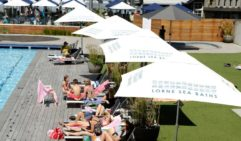 Swim and unwind at Lorne Sea baths as well as possibly trying one of their salt therapy session.