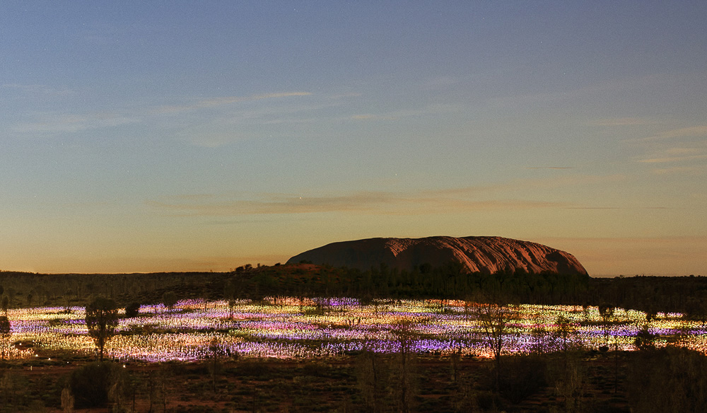 Bruce Munro's Field of Light is an unforgettable sight