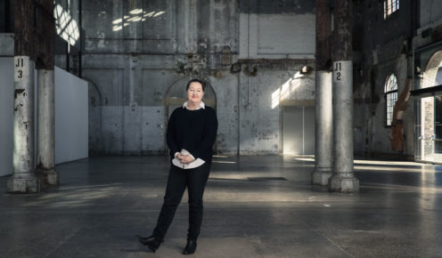 The director of Carriageworks in Eveleigh, Lisa Havilah (photo: Nic Walker).