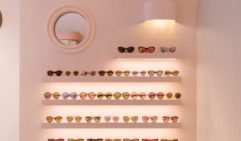 A wall of chic shades (photo: Felix Forest).