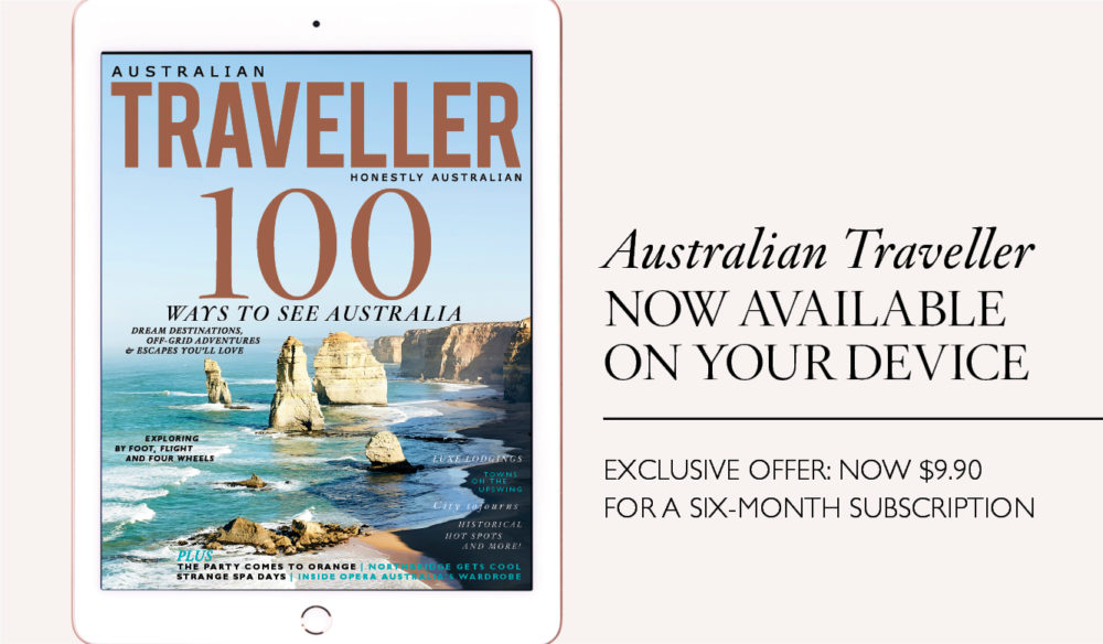 Australian Traveller now available on device