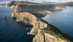 Aerial view of Cape Hauy (photo: Tasmania Parks and Wildlife Service)