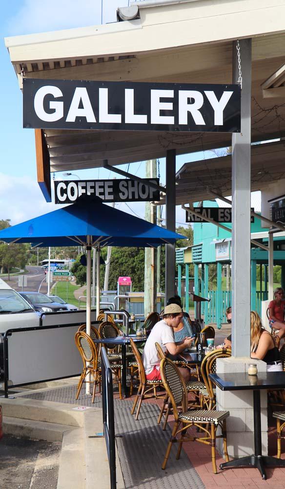 Cafe Jilarty at Rainbow Beach