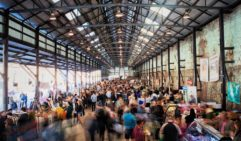 Carriageworks Farmers' Market, brings together over 80 New South Wales producers and chefs.