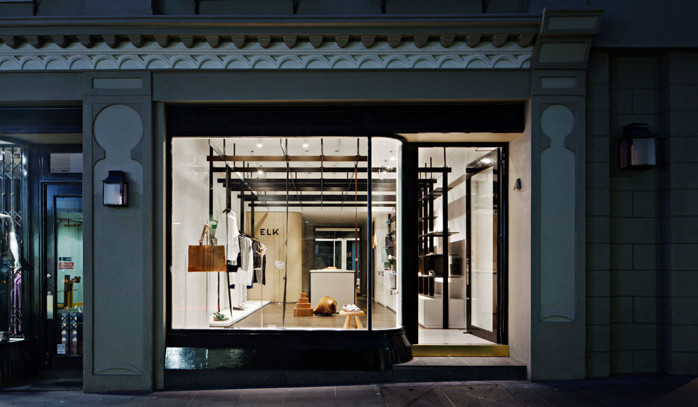 Melbourne fashion label, Elk, has crossed the boarder into Sydney, New South Wales.