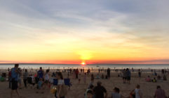 Some of the best food in Darwin is at its markets,  as well as beautiful sunsets and sunrises,  Darwin, Australia (photo: Michael Wee).