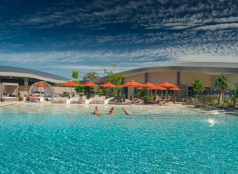 Byron bay hotel beach Relax