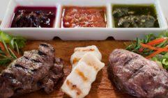 A taste of Australia Fraser-island style: Kingfisher Bay Resort's K'gari Tasting Platter.