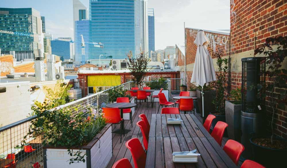 Bar rooftop bar Perth