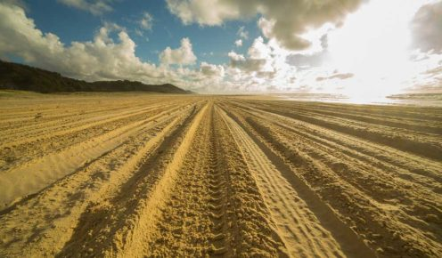 Driving on Fraser Island's sand is easier with just a few simple adjustments to your driving technique.