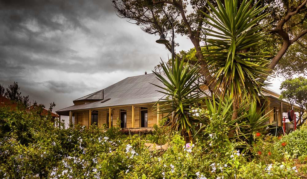 Cockatoo Island House Sydnet Harbour