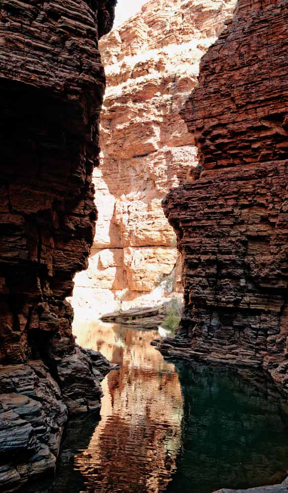 Karijini National Park, has some of the oldest exposed rocks anywhere in the world (photo: Jonathan Cami).