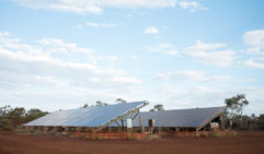 Solar power takes the bulk of the energy demands at Karijini Eco Retreat (photo: Jonathan Cami).