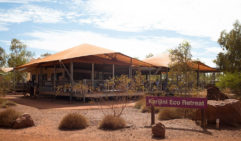 Outback alfresco: Karijini Eco Retreat (photo: Jonathan Cami).