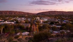 View from Anzac Hill in Alice Springs, Northern Territory, Australia