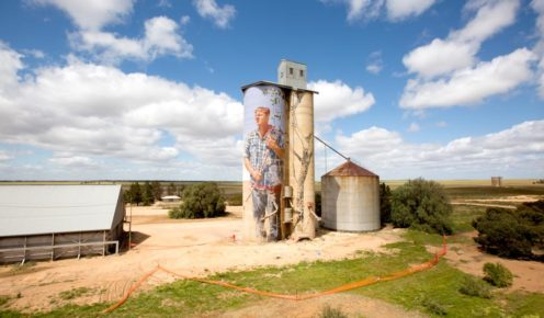 Street artist Guido Van Helten has transformed decommissioned silos into beautiful artworks.