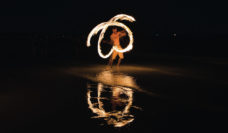 Fire dancing, just one of the amazing things you'll see