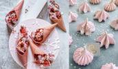 pink food desserts