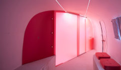 Notel radiates neon pink vibes (photo: Andrew Curtis).