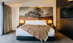 Each guest room of MACq01 has a special design tailored to one of many stories from Tasmania's history.