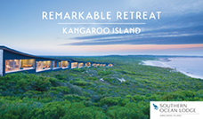 Stay 4, pay 3 at Kangaroo Island's celebrated Southern Ocean Lodge plus indulge with an AT exclusive bonus suite upgrade.
