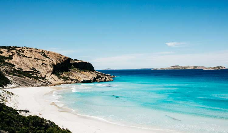 The beautiful isolated beaches of Esperance, WA.