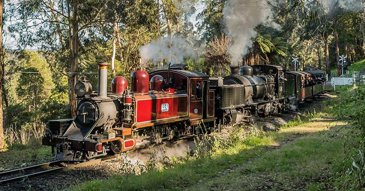 Puffing Billy Train, VIctoria.