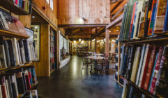 Grab a book, some food and a glass of wine and unwind at the iconic Berkelouw Book Barn (photo: Nicky Ryan).