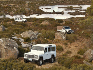 Thousand Lakes Wilderness Lodge, Tasmania hiking driving holidays escapes