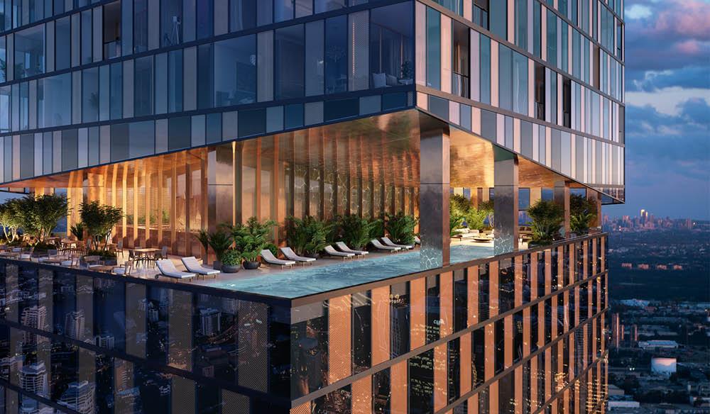 8 Phillip Street parramatta food hotels new design infinity pool luxury