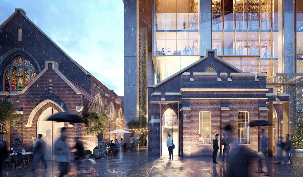 8 Phillip Street parramatta food hotels new design