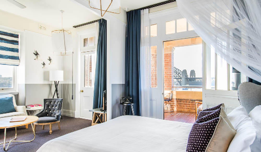The Hotel Palisade  Sydney has received a full makeover from the super stylist Sibella Court (photo: Nikki To).
