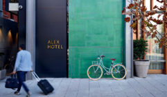 Simple yet stylish, the Alex Hotel has rooms for just about every size group and more (photo: Anson Smart).