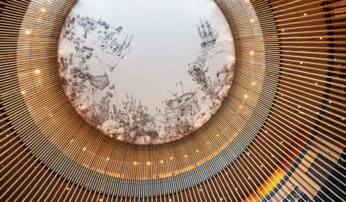 Hill Architects have redeveloped Perth library to a more contemporary design which features artworks from local artists (photo: City of Perth).