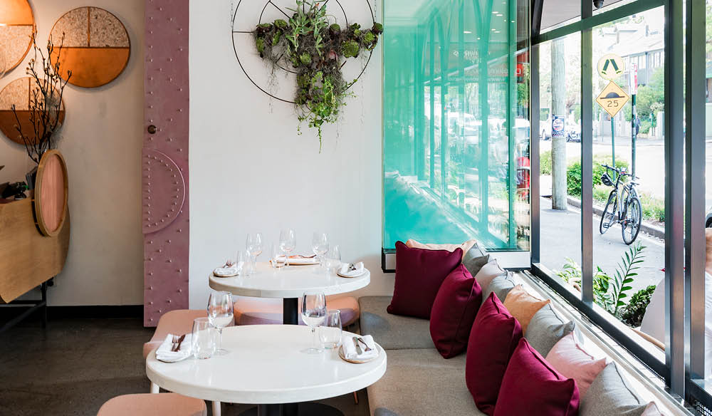 food and wine review restaurant Sydney middle eastern