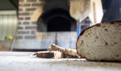 Dust's bread, and other menu items, is made from flour stone milled on-site.